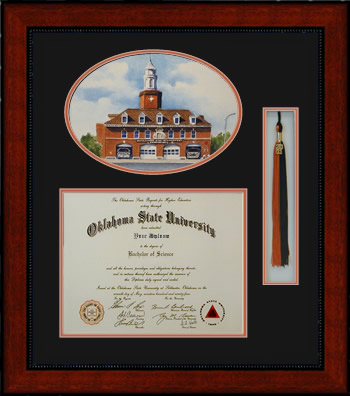 Frame Your Oklahoma State University Diploma Main Page
